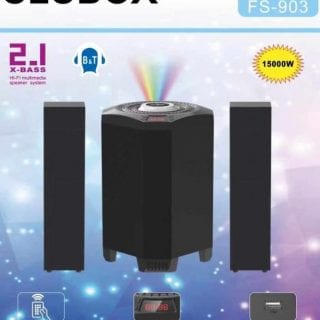 CLUBOX 2.1 X-Base HI-FI Bluetooth Speaker System FS-903