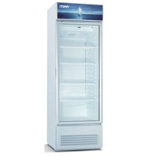 Mika Upright Showcase Freezer, 250L-MSFU2501WG