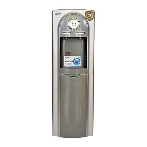 Bruhm - Hot And Cold Water Dispenser - Grey Silver-BWD HC 37CE