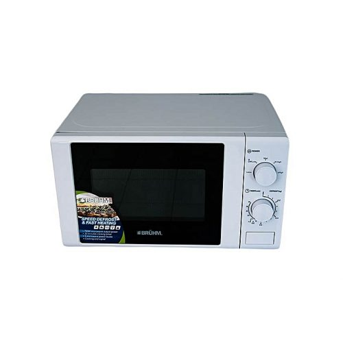 Bruhm-Microwave Oven Solo - 700W - 20 Litres - White-BMO720
