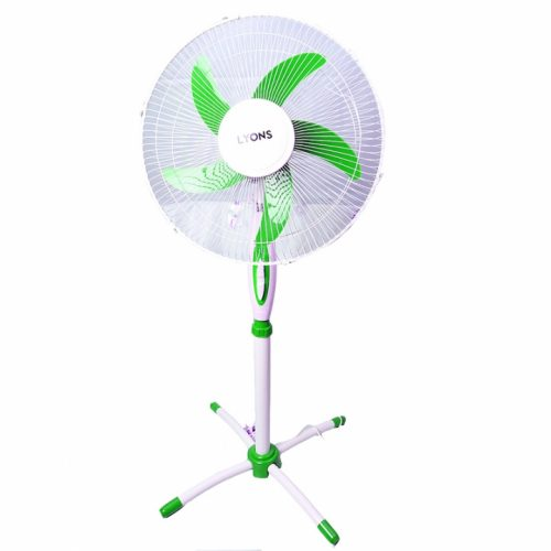 Lyons Stand Fan Powerful and Quiet ,5-Speed, Household Fan air conditioner Green-FS-1602