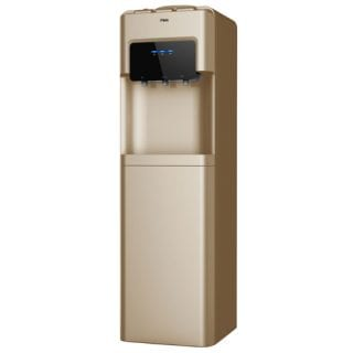 Mika Water Dispenser, Standing, Hot, Normal & Cold, Compressor cooling, Gold & Black
