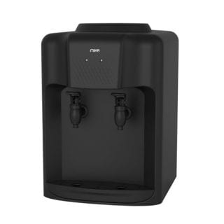 Mika Water Dispenser, Table top, Hot & Normal, Black