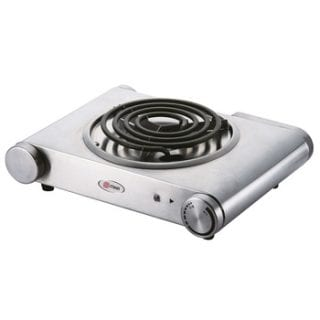 Hot Plate, Single, 1500W, Stainless steel