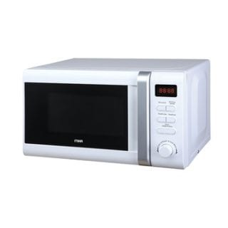 Microwave Oven, 20L, Digital Control Panel, White