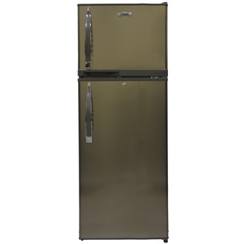 Refrigerator, 212L, Direct Cool, Double Door, Dark Silver