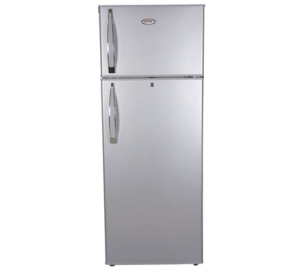 Refrigerator, 212L, CF, Direct Cool, Double Door, Silver brush