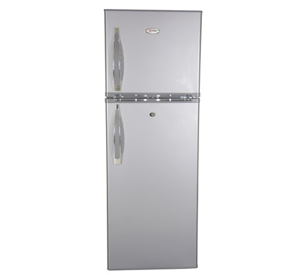 Refrigerator, 168L, Direct Cool, Double Door, Silver Brush