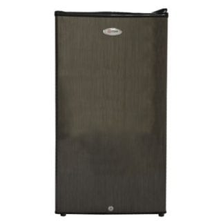 Refrigerator, 90L, Direct Cool, Single Door, Black Brush