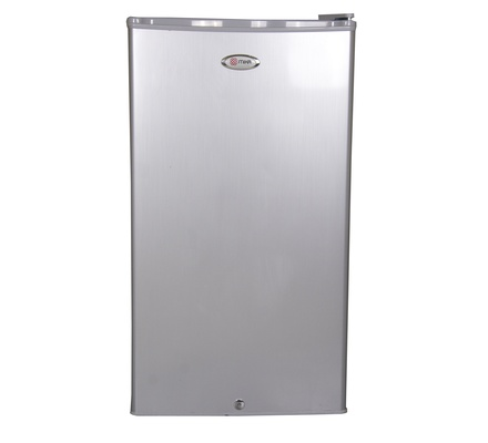 Refrigerator, 90L Direct Cool, Single Door, Silver Brush