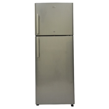 No Frost Refrigerator, 248L, Double Door, Hairline Silver