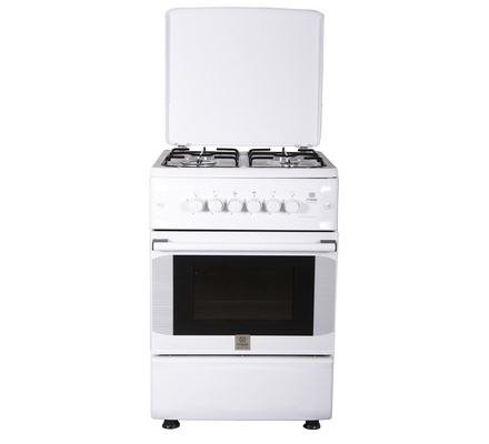 Standing Cooker, 50cm X 55cm, 4GB, Gas Oven, White