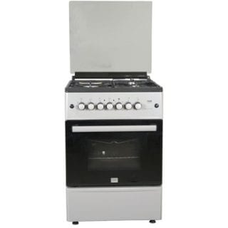 Standing Cooker, 60cm X 60cm, All Gas, Gas Oven, Silver