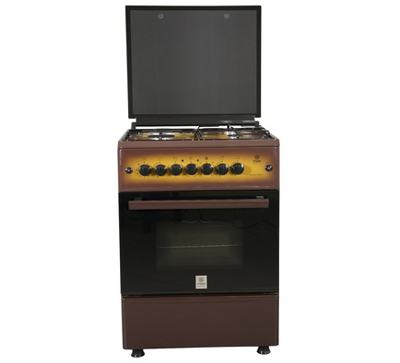 Standing Cooker, 60cm X 60cm, 3 + 1, Electric Oven, Light Brown TDF