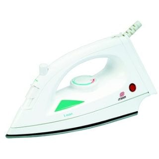 Steam Iron, Non-Stick Soleplate, White