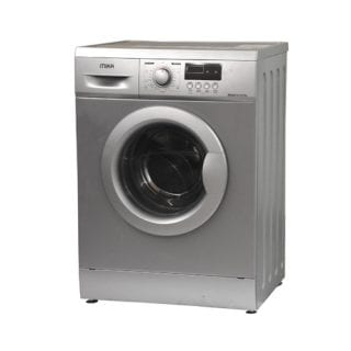 Mika Washing Machine, Fully-Automatic, 7Kgs, Silver