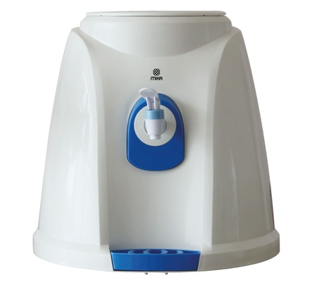 Water Dispenser, Table Top, Normal Only, White & Blue