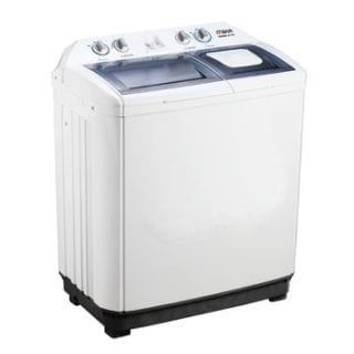 Washing Machine, Semi-Automatic, 10Kg, White