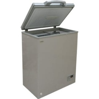 Deep Freezer, 100L, Silver Grey