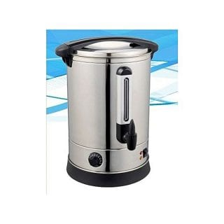 STERLING Commercial Catering Tea Urn Stainless Steel Water Boiler, 20 Ltrs