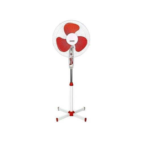 STERLING 16'' Electric Stand Fan SSF-101 - White & Red